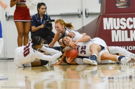 Team Scrum LMU women's basketball vs. UC Riverside Dec. 17, 2016