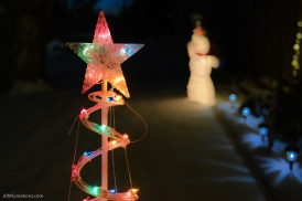 621 W. Emma Lafayette Christmas snowman