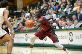 Munis Tutu LMU men's basketball at Colorado State Dec. 19, 2016 Moby Arena