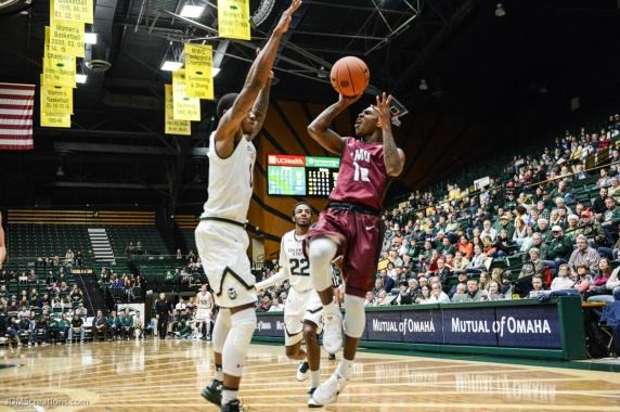 Brandon Brown LMU men's basketball at Colorado State Dec. 19, 2016 Moby Arena