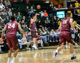 Steven Haney Jr. LMU men's basketball at Colorado State Dec. 19, 2016 Moby Arena