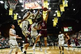 Trevor Manuel LMU men's basketball at Colorado State Dec. 19, 2016 Moby Arena