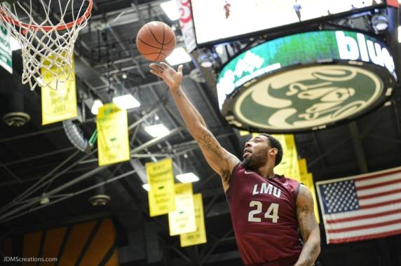Shamar Johnson LMU men's basketball at Colorado State Dec. 19, 2016 Moby Arena