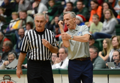 Mike Dunlap LMU men's basketball at Colorado State Dec. 19, 2016 Moby Arena