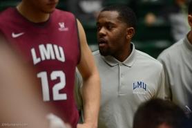 Chris Simpson LMU men's basketball at Colorado State Dec. 19, 2016 Moby Arena