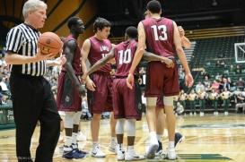 Team-LMU men's basketball at Colorado State Dec. 19, 2016 Moby Arena