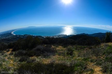 Christmas Day hike on East Topanga Fire Road to Parker Mesa Overlook Santa Monica Mountains.