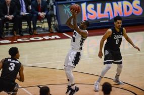 Brandon Brown LMU men's basketball vs. No. 1 Gonzaga Feb. 9, 2017