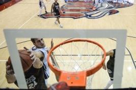 Petr Herman LMU men's basketball vs. No. 1 Gonzaga Feb. 9, 2017