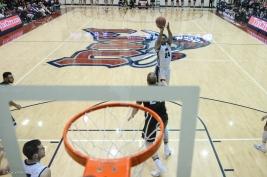 Shamar Johnson LMU men's basketball vs. No. 1 Gonzaga Feb. 9, 2017