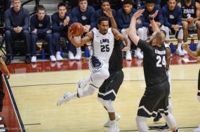 Jeffery McClendon LMU men's basketball vs. No. 1 Gonzaga Feb. 9, 2017