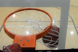 Basketball Hoop Net Graphic Ball LMU men's basketball vs. No. 1 Gonzaga Feb. 9, 2017