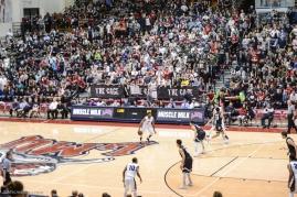 Crowd Fans Cage LMU men's basketball vs. No. 1 Gonzaga Feb. 9, 2017