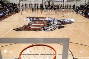 Gersten Floor Graphic LMU men's basketball vs. No. 1 Gonzaga Feb. 9, 2017