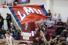 LMU Flag LMU men's basketball vs. No. 1 Gonzaga Feb. 9, 2017