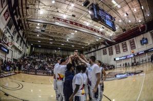 Team LMU men's basketball vs. No. 1 Gonzaga Feb. 9, 2017