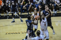 Brandon Brown LMU men's basketball regular season finale at Pacific Feb. 25, 2017