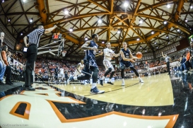 Petr Herman Brandon Brown LMU men's basketball regular season finale at Pacific Feb. 25, 2017