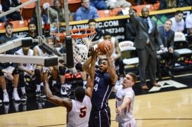 Shamar Johnson LMU men's basketball regular season finale at Pacific Feb. 25, 2017
