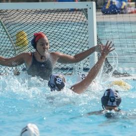 Sky Flores LMU women's water polo vs. Michigan LMU Invitational Mar. 17, 2027