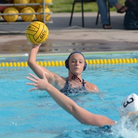 Katie Hungerford LMU women's water polo vs. Michigan LMU Invitational Mar. 17, 2027