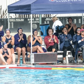 Team Bench LMU women's water polo vs. Michigan LMU Invitational Mar. 17, 2027