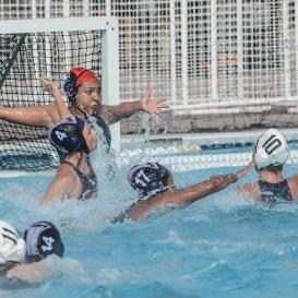 Team Defense LMU women's water polo vs. Michigan LMU Invitational Mar. 17, 2027