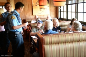 Claim Jumper Tip-A-Cop LETR Special Olympics Fundraiser in Long Beach, Calif., April 6, 2017