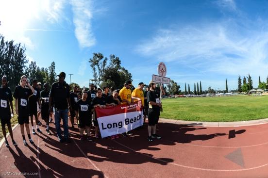 Special Olympics Southern California LA/SGV Pomona Area Games April 22, 2017 Long Beach delegation