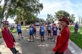 Special Olympics Southern California LA/SGV Pomona Area Games April 22, 2017 mile race starting line with race marshalls