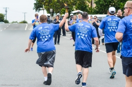 Special Olympic Southern California LETR Final Leg - Central Route - Monday, June 5, 2017 Palos Verdes Estates Police Department with athlete
