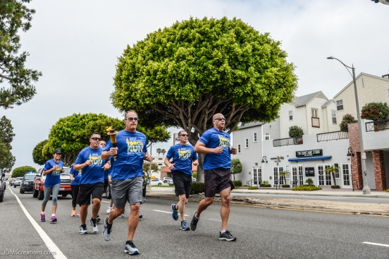 Special Olympic Southern California LETR Final Leg - Central Route - Monday, June 5, 2017 Torrance Police Department