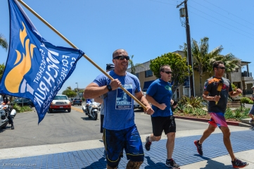 Special Olympic Southern California LETR Final Leg - Central Route - Monday, June 5, 2017 Manahattan Beach Police Department