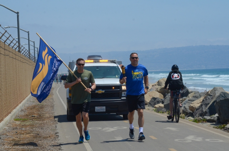 Special Olympic Southern California LETR Final Leg - Central Route - Monday, June 5, 2017 El Segundo Police Department
