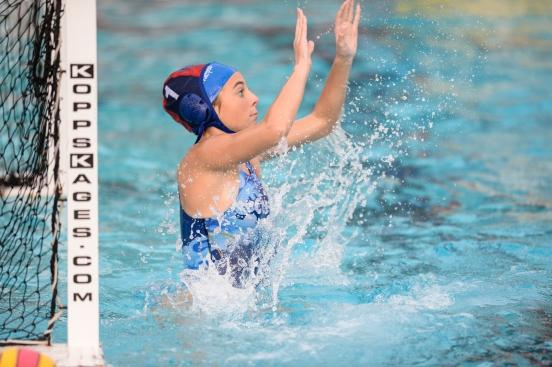 Culver City High School girls' water polo vs. El Segundo High School Culver City Plunge Jan. 10, 2017
