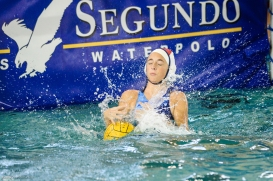 CCHS Water Polo at El Segundo High School - Jan. 25, 2017