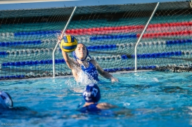 Culver City High School Girls' water polo at CC Plunge - Jan. 31, 2017
