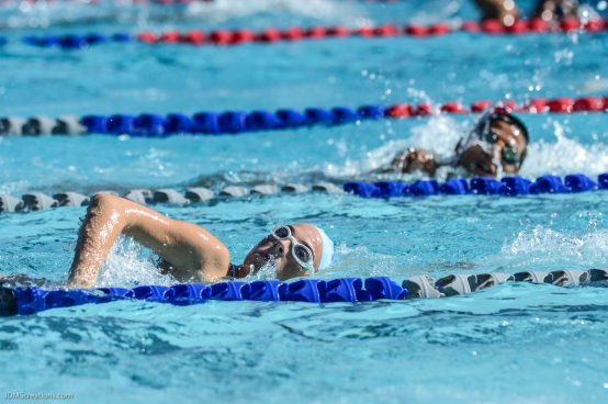 Culver City High School Swimming vs. Torrance North The Plunge Mar. 8, 2017