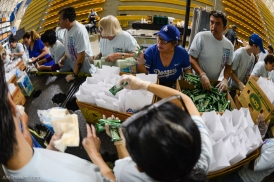 2017 Special Olympics Southern California Summer Games Day One June 10, 2017 Albertsons Vons Pavilions Volunteers prepare lunches