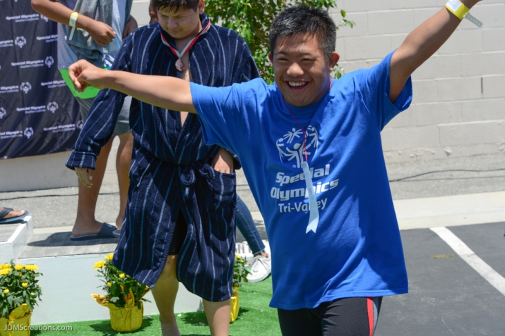 2017 Special Olympics Southern California Summer Games Day Two June 11, 2017 Swimming Medal