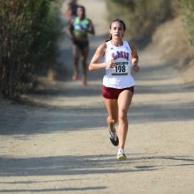 Danielle Shanahan ran a smooth race.