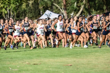 Women's Team LMU Cross Country at Mark Covert Classic - Brea, CA - Carbon Canyon Regional Park - Sept. 2, 2017
