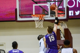 Portland 15 dunk LMU Men's Basketball vs. Portland - Jan. 20, 2018