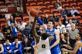 LMU men's basketball vs. BYU - Feb. 1, 2018