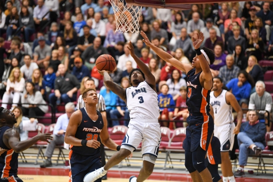 Cameron Allen LMU men's basketball vs. Pepperdine - Feb. 10, 2018 - Family Weekend Game - PCH Cup