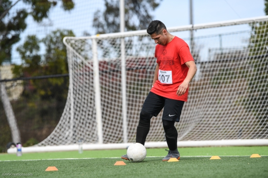 LA Galaxy Special Olympics Southern California Unified Team Tryouts - StubHub Center - Mar. 18, 2018