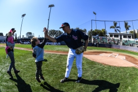 First Pitch Promotion LMU baseball vs. Oregon - Game 3 - Feb. 25, 2018