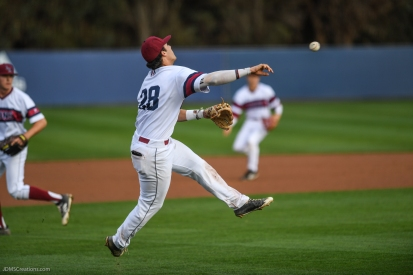 Niko Decolati LMU Baseball vs. USC - Mar. 13, 2018