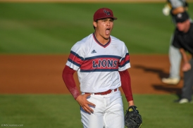 Tyler Cohen Celebrates LMU Baseball vs. San Francisco - Apr. 14, 2018
