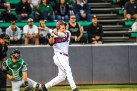 Jamey Smart Homerun LMU Baseball vs. San Francisco - Apr. 14, 2018